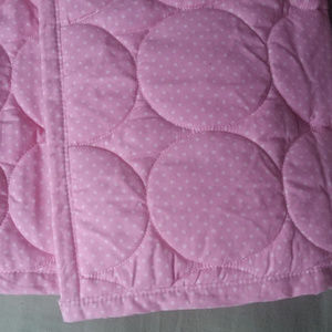Waterproof sleep pad, quilted cotton top, NEW